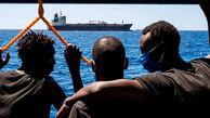پایان کابوس ۲۵ مهاجر پس از ۴۰ روز سرگردانی در دریا