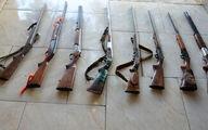 پاتک شبانه پلیس به 5 خانه در تالش / 8 سلاح غیرمجاز کشف شد