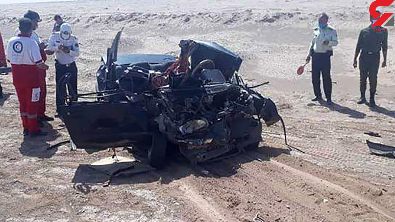 تصادف مرگبار در کمربند غربی میبد / 3 تن کشته شدند