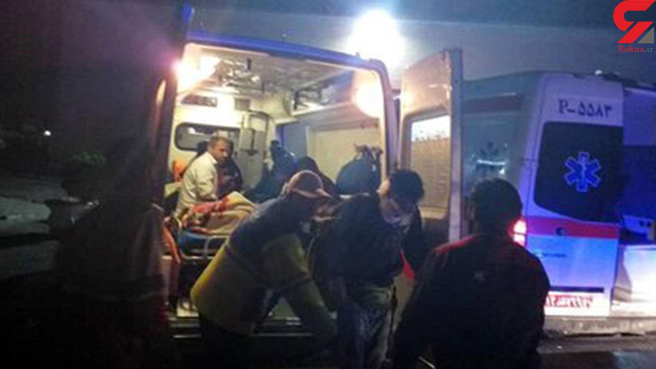 9 قربانی در تصادف خمینی شهر
