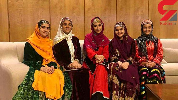این 5 دختر ایرانی جام و مدال قهرمان آسیا را به فوتبالیست ها می دهند + عکس