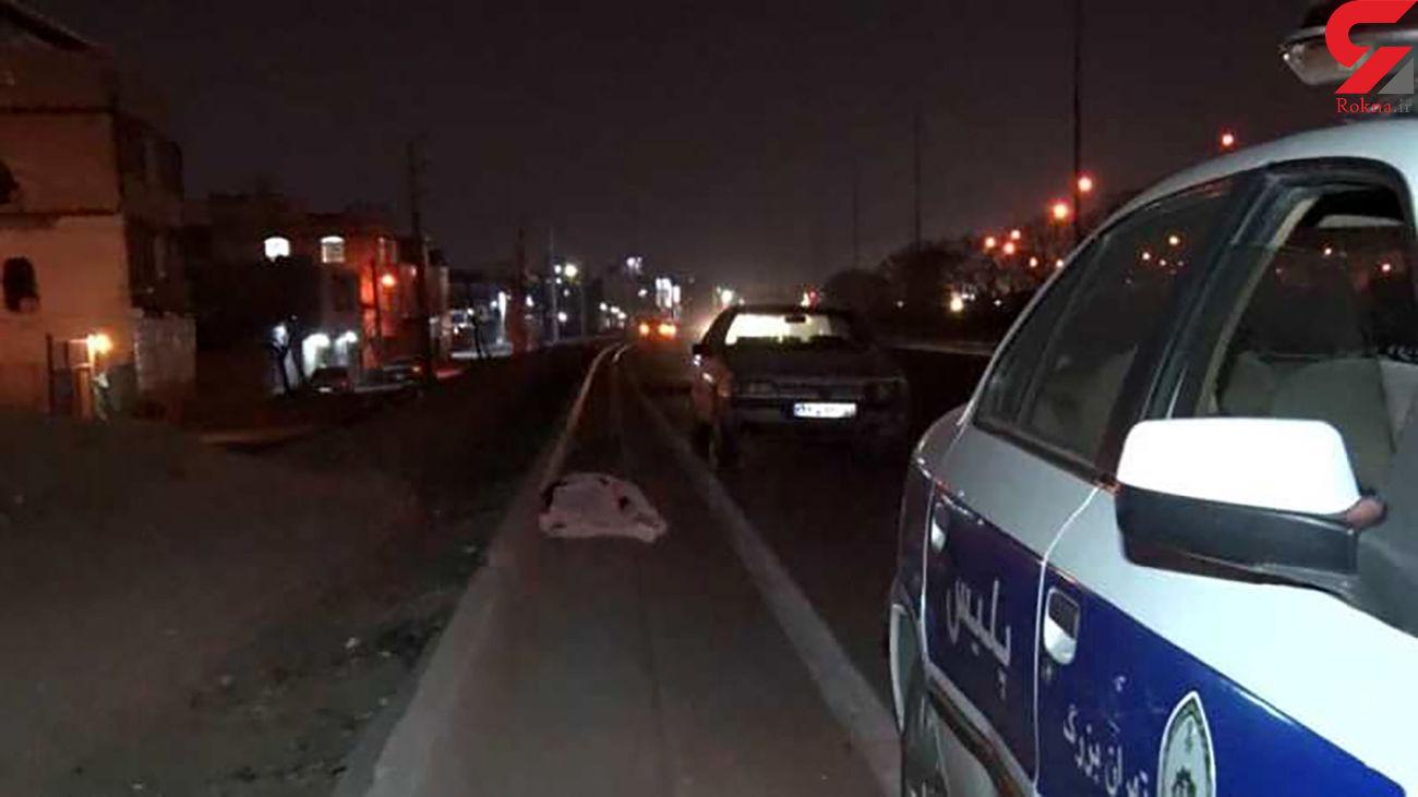 فرار از صحنه مرگ مرد تهرانی / شب گذشته رخ داد + عکس