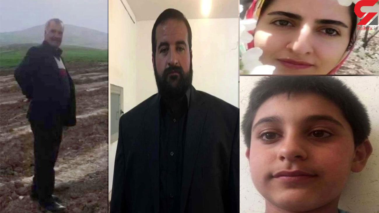پشت پرده قتل عام خانوادگی در تویسرکان / قاتل بی رحم اعتراف کرد + عکس