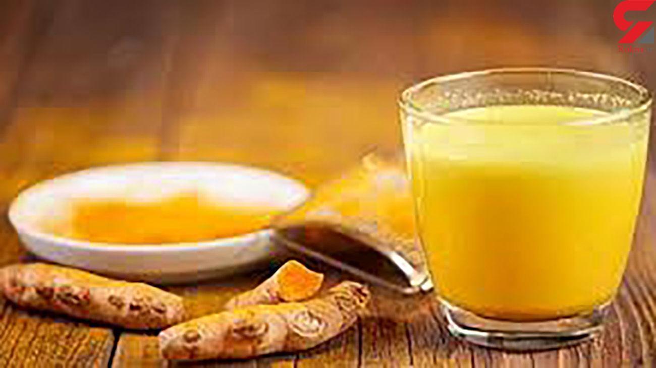خواص فراوان شیر زردچوبه برای سلامتی بدن + طرز تهیه