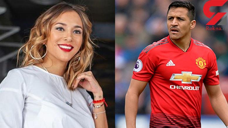 این خانم مجری خوش چهره در دام پلید فوتبالیست سرشناس افتاد! / منچستری ها شوکه شدند!+عکس