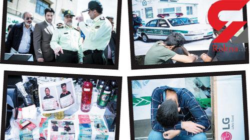 برخورد با روزهخواری در ملأ عام + عکس