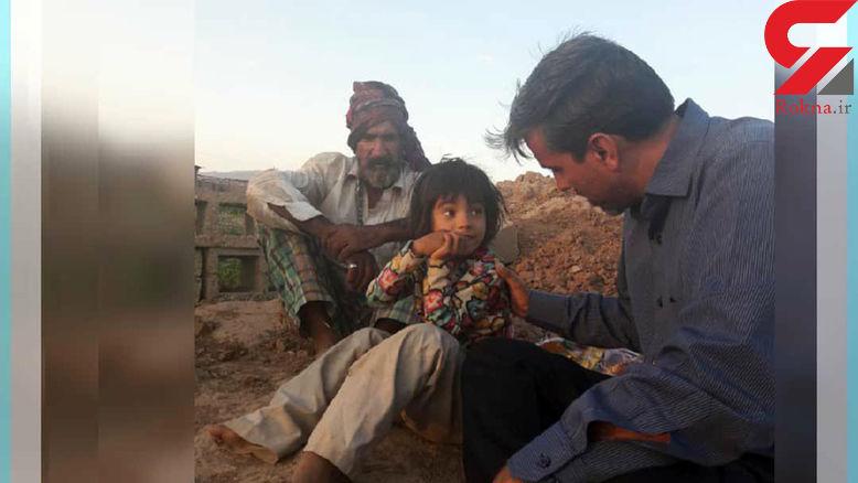 زندگی دردناک دختر ۶ ساله ایرانی در گاوداری متروکه! + عکس