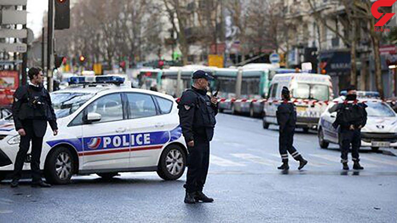 حمله مسلحانه به یک زن در مقابل اداره پلیس