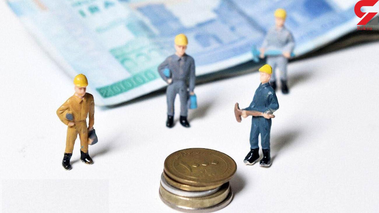 دستمزد کارگران فقط 38 درصد از هزینه های آنها را پوشش می دهد
