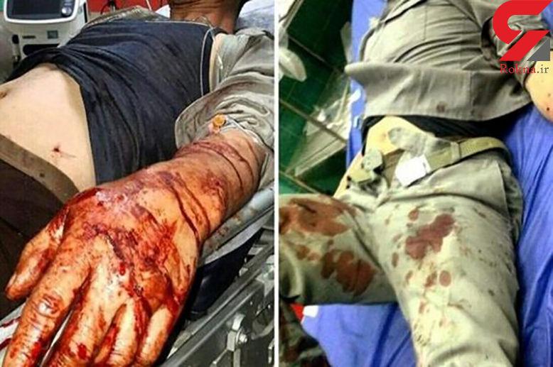 صحنه ای هولناک که شکارچیان سنگدل بهشهر رقم زدند / 4 محیط بان، غرق در خون + عکس