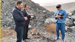 اعترافات قاتل  در بازسازی صحنه جسد سوخته زن مشهدی+ عکس