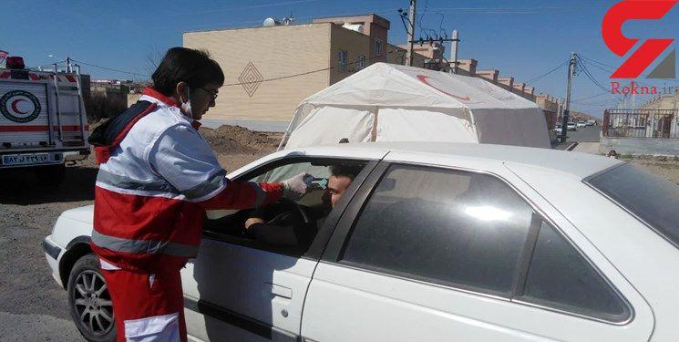 غربالگری ۱.۵ میلیون نفر در مبادی آذربایجان شرقی