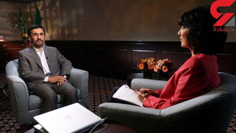 بازی احمدی نژاد با مجوز ورود کریستین امان پور