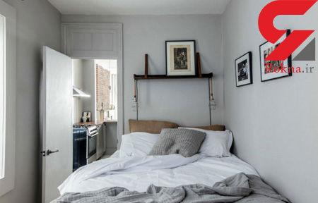 آیا تخت خواب دونفره را به دیوار بچسبانیم؟
