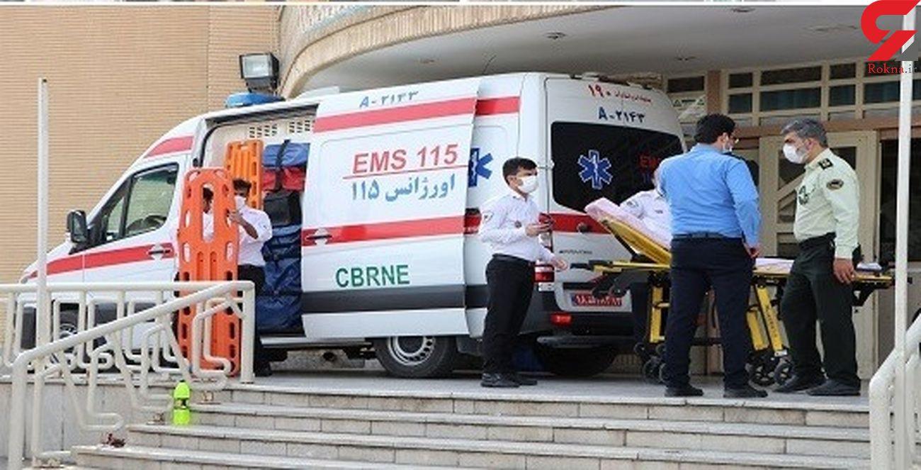 ارائه خدمات فوریت های پزشکی به 20 مصدوم تصادف زنجیره ای
