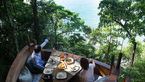 رستوران درختی اقامتگاهی برای ماجراجویان+عکس