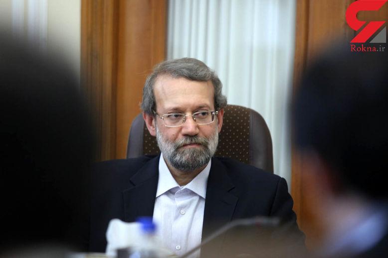 لاریجانی: همکاریهای ایران و غنا در حوزه دارویی و درمانی باید ارتقاء یابد