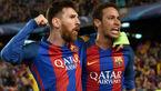 ترس مسی از امضای نیمار با باشگاه رئال +عکس