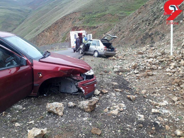 مه غلیط در خلخال فاجعه آفرین شد / پیکر 7 نفر در میان آهن پاره ها+ عکس
