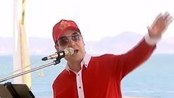 رئیس جمهوری رپ خواند! +فیلم