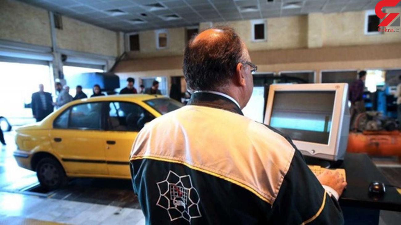 برخورد پلیس راهور قم با خودروهای فاقد معاینه فنی