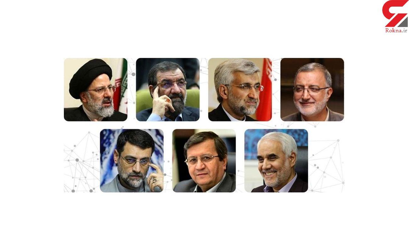 برگزاری اولین مناظره انتخابات 1400 با رویکرد اقتصادی / سردرگمی برنامه نامزدها و حمله و توهین !