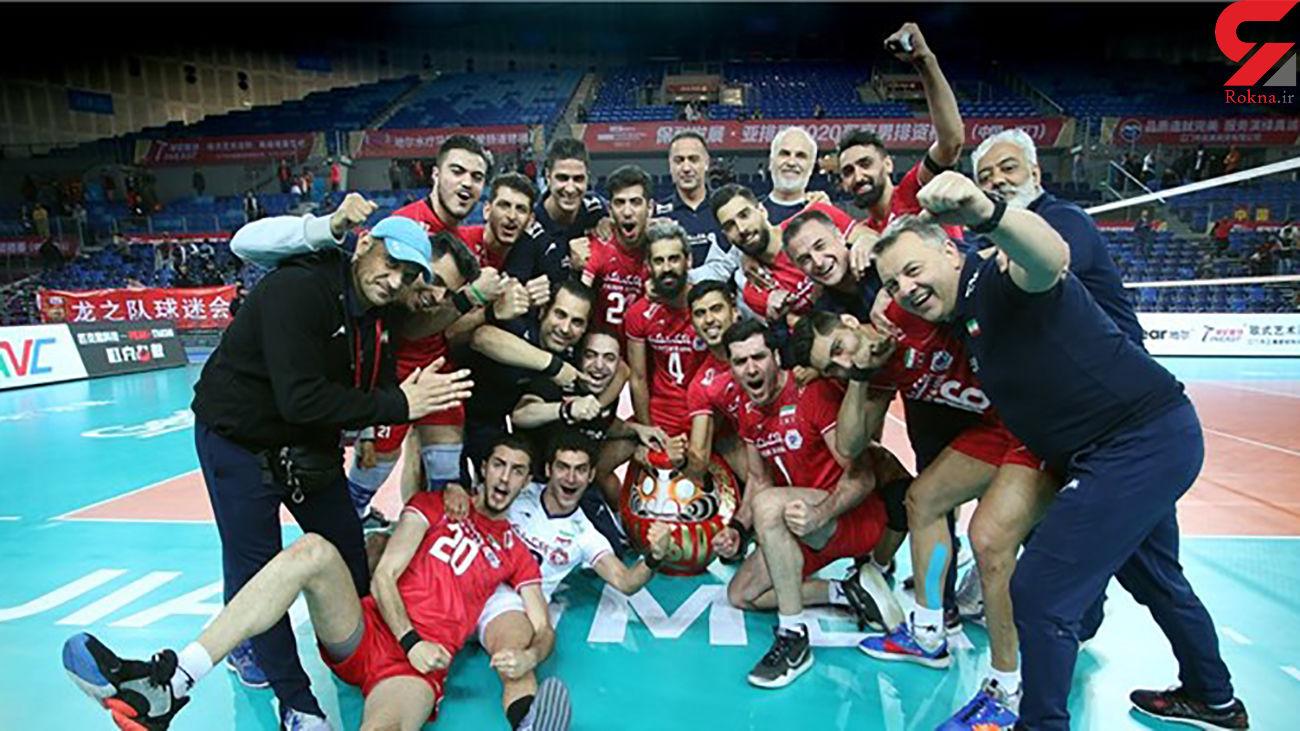 جایگاه هشتم ایران در جدیدترین رنکینگ فدراسیون جهانی والیبال