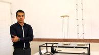 دستگاه شبیه ساز زلزله در دانشگاه صنعتی کرمانشاه ساخته شد