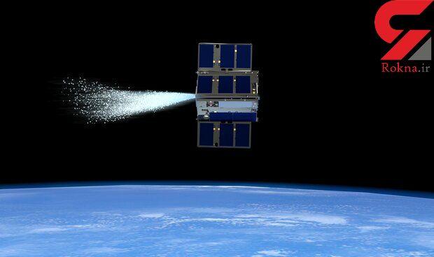حرکت ماهوارههای  کیوب ست با بخار در مدار زمین