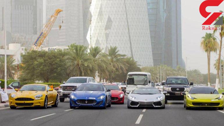 بیفرهنگی به سبک بچه پولدارهای قطری+عکس