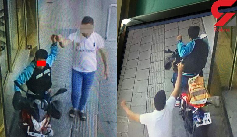 این مردان مخوف از ترس پلیس تهران از پشت بام به پایین پریدند + عکس لحظه حادثه