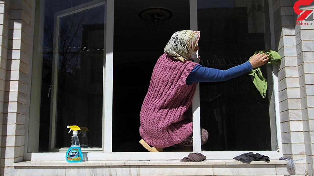 اخراج اجباری کارگران منزل /  کمک کردن کاهش یافته است