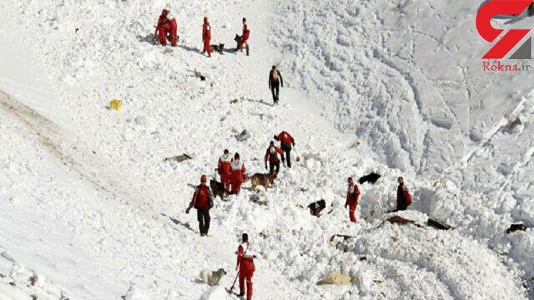 2 امدادگر و یک مرد روستایی درکوه کوهرنگ منجمد شدند / مرگ تلخ
