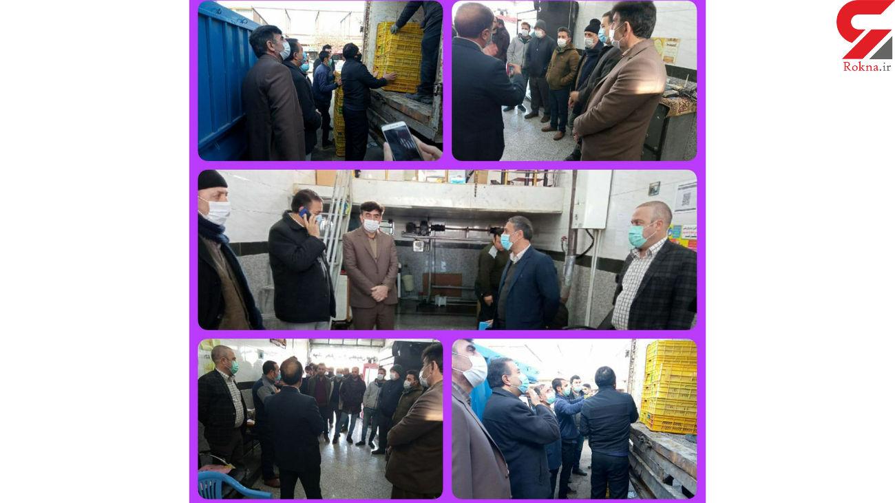 پخش و توزیع مرغ گرم کشتار روز به قیمت تنظیم بازار در هشترود