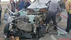 تصادف مرگبار در کاشمر / صحنه تصادف 7 زن و کودک
