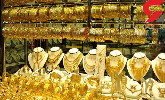 کاهش قیمت طلا به خاطر گرانی دلار