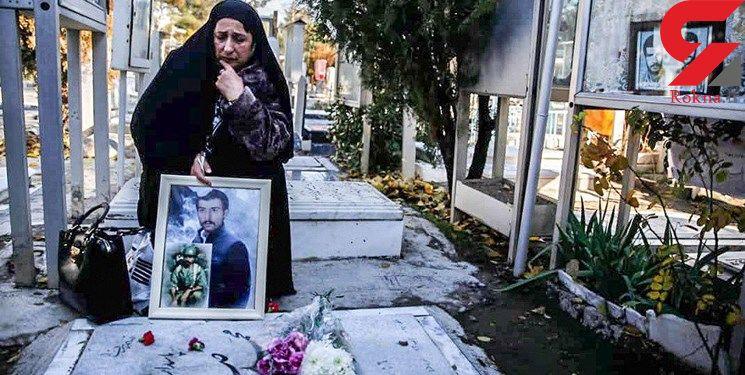 شهید صفری مفقودالاثر نبود/  همسرش بعد از 39 سال قبرش را در بهشت زهرای تهران  پیدا کرد! + فیلم