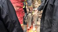 ریزش ساختمان قدیمی در خیابان 15 خرداد / مرد 35 ساله مدفون شد + عکس