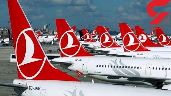 پروازهای شرکت هواپیمایی ترکیه به تهران و بغداد آغاز شد
