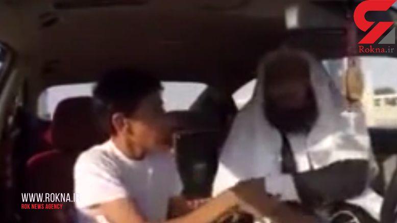 دوربین مخفی داعشی/ عملیات انتحاری در تاکسی+فیلم