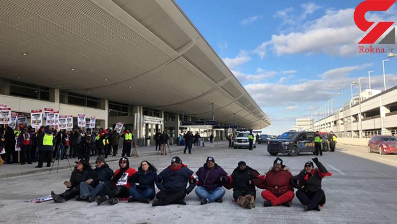 بازداشت نماینده میشیگان در فرودگاه