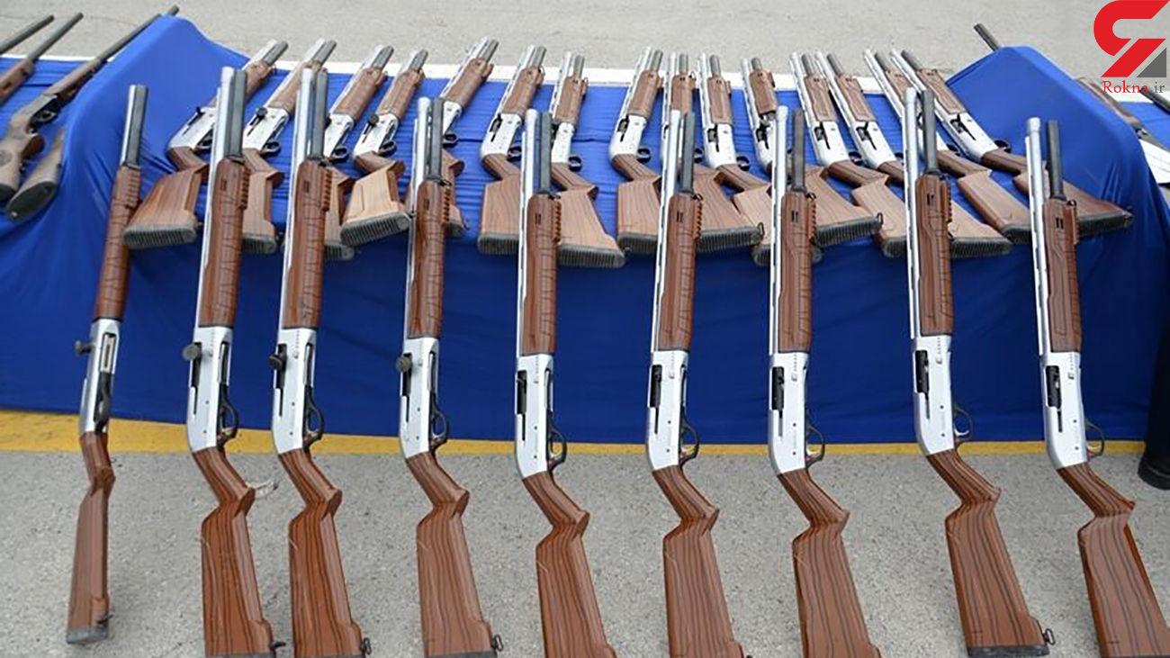 انهدام باند قاچاق اسلحه در روانسر