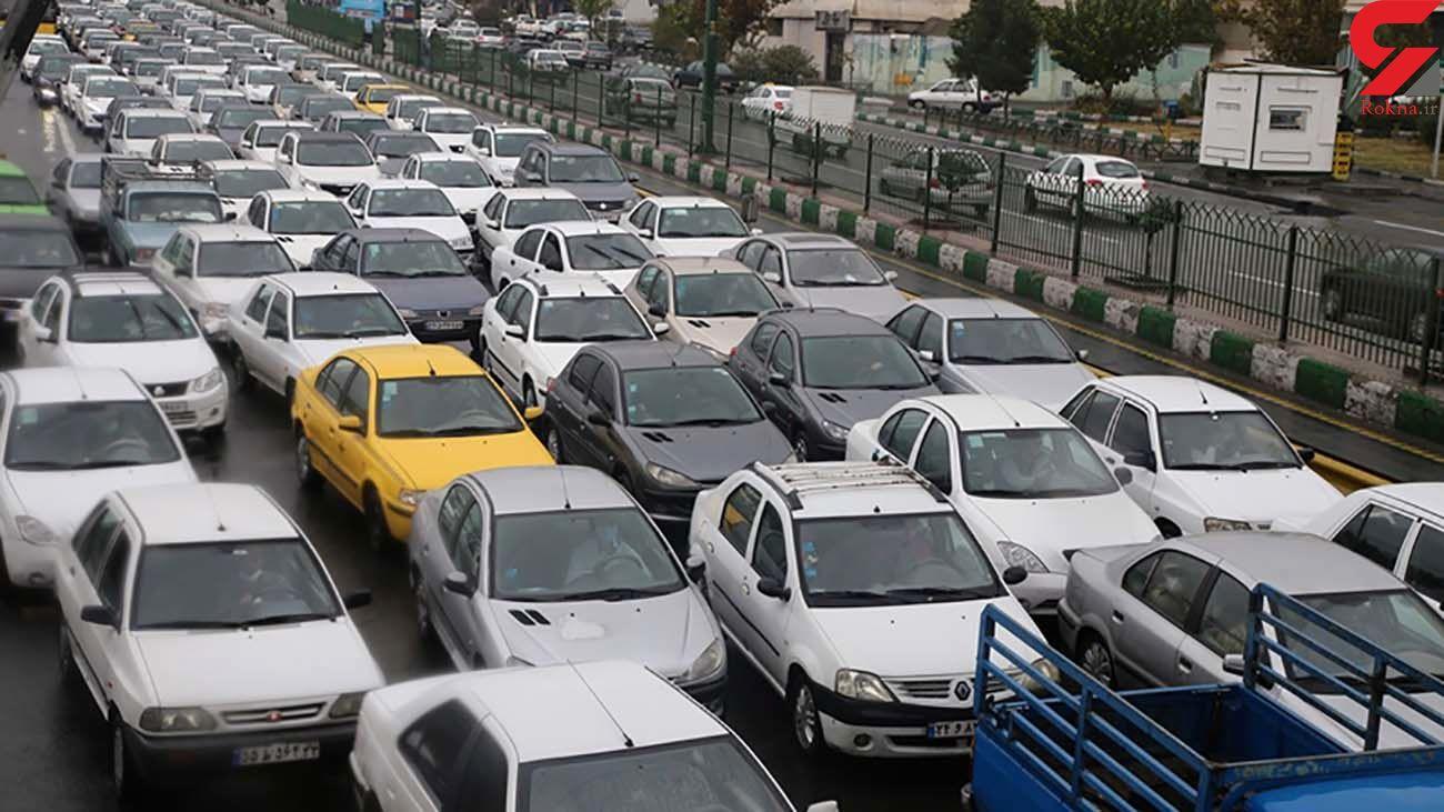 وضعیت ترافیکی معابر بزرگراهی و اصلی تهران / امروز یکشنبه  پنجم بهمن ماه 1399