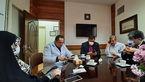 تصاویر بازدید دو نماینده مجلس از قرنطینه بیمارستان مسیح دانشوری