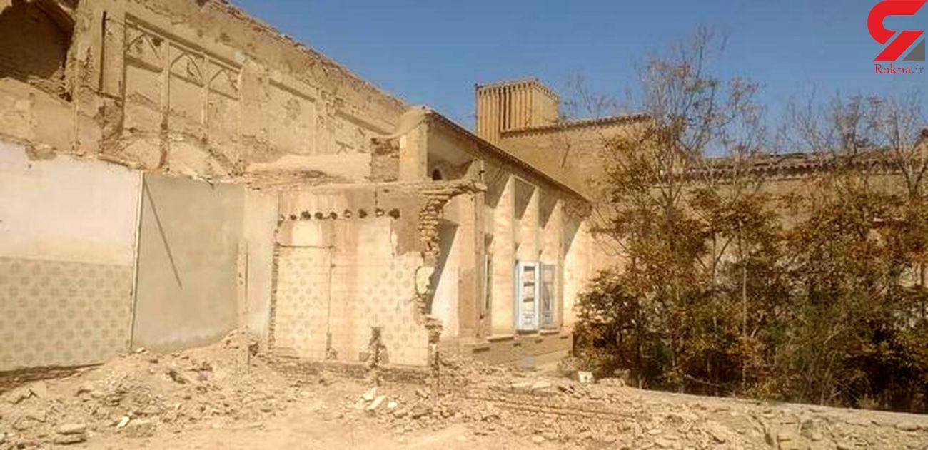 سرنوشت شوم خانه تاریخی اربابی در یزد