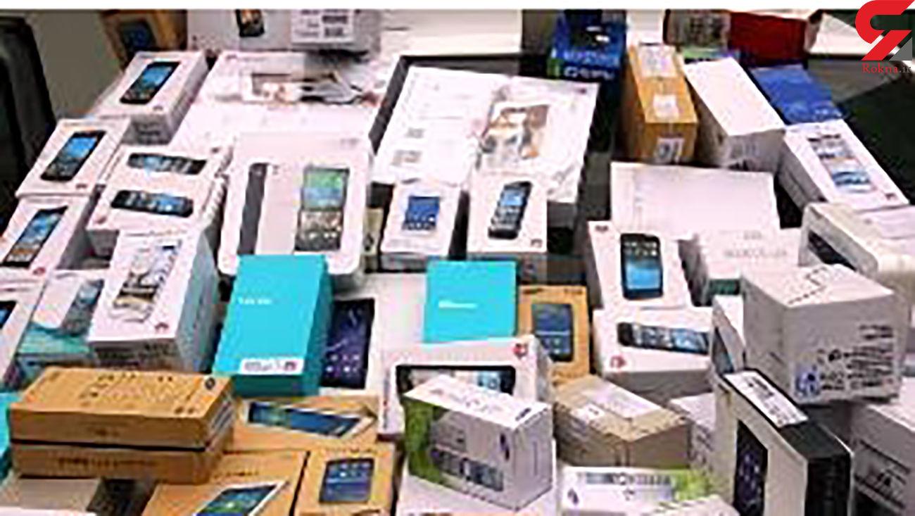 کشف 7 میلیاردی گوشی های قاچاق در پایتخت