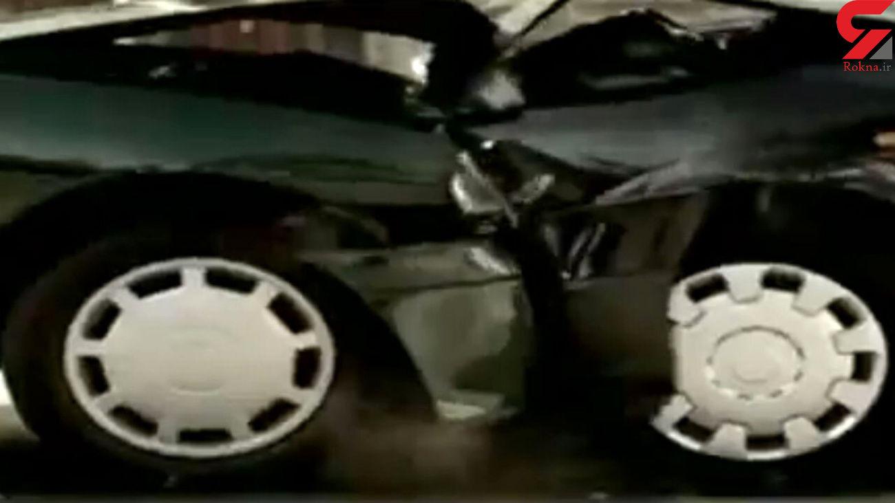 تاثیر حیرت انگیز بستن کمربند ایمنی در هنگام تصادف + فیلم