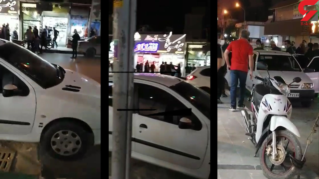 حمله  مردان قلدر با مهمات جنگی به خانه ها + فیلم و عکس / آبادان