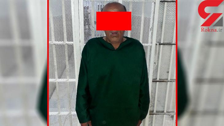 راننده تاکسی آدمکش تهرانی هنگام فرار دستگیر شد+عکس