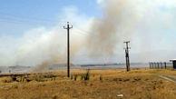 شعله های سوزان علفزارهای سلماس را به خاکسترتبدیل کرد